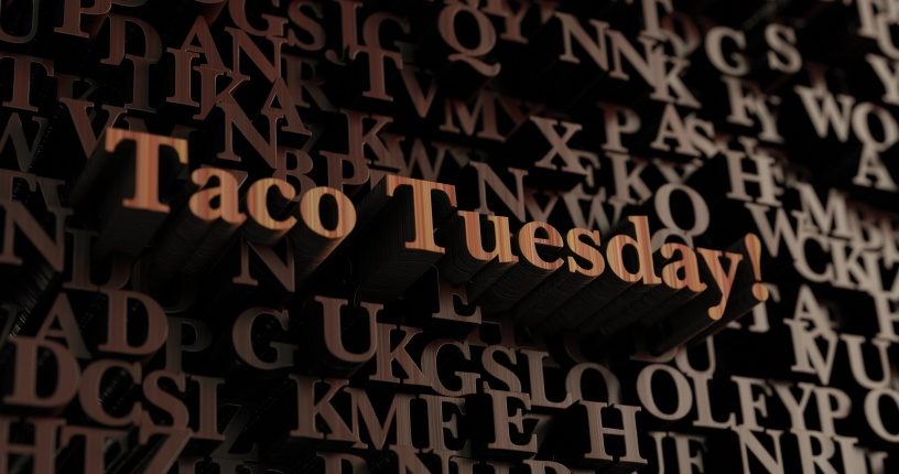 Luke Rehbein - trade mark taco tuesday